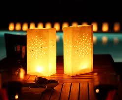 Candle Lantern Bags (10 Pack)