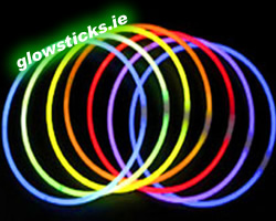 100 Pack of Glow Necklaces 5x275mm