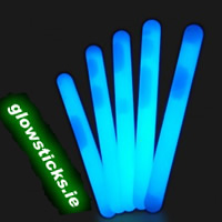 "(Pack of 25) Blue 4"" Glow Sticks"