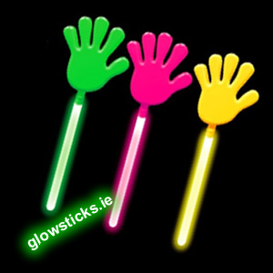 12 Pack of Glow Hand Clappers SPECIAL OFFER 25% off
