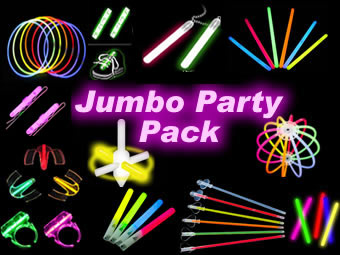Jumbo Glow Party Pack