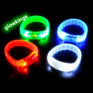 Led Flashing Flexible Bracelet SPECIAL OFFER 33% off