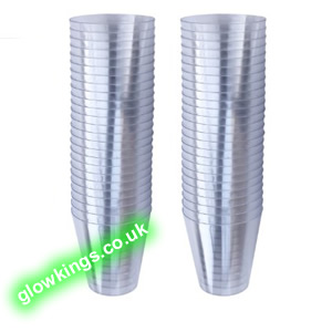 Set of 40 Plastic Shot Glasses 20ml
