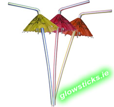 Cocktail Umbrella Straws (Pack of 10)