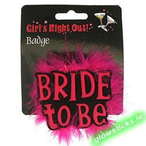 Bride to Be Furry Badge